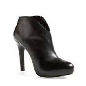 Jessica Simpson Arriel Black Side Zip Booties Sz 7